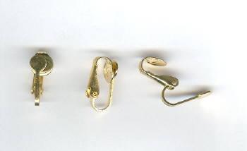 clip on earring backs 1 pair luc co inc
