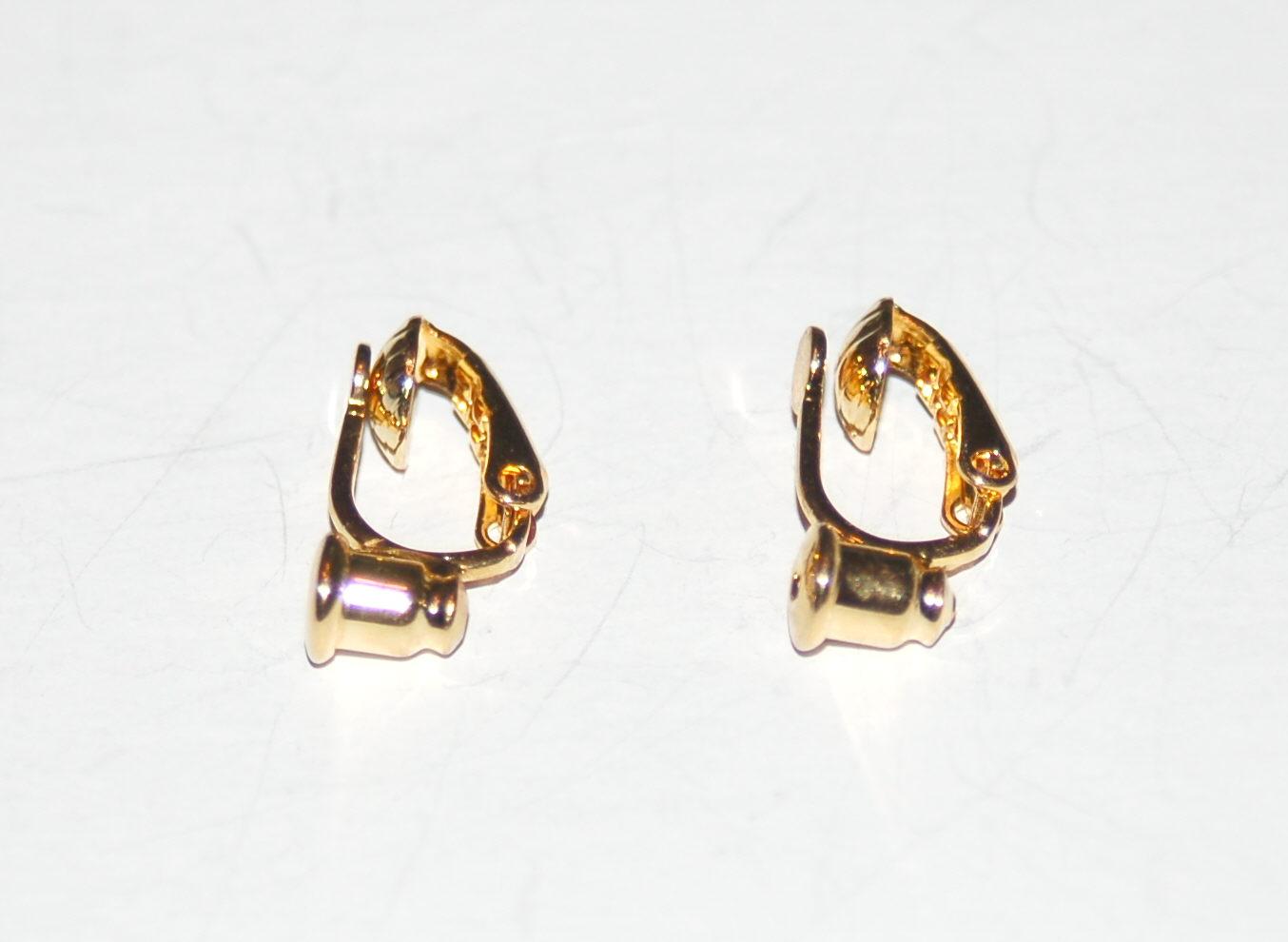 ceee69cbd Earring Converters - Mini Clip - 2 pairs - Luc-Co, Inc.