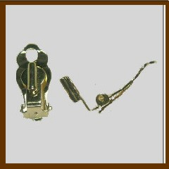 c044d202c Earring Converter Paddle Clip - 2 pairs - Luc-Co, Inc.